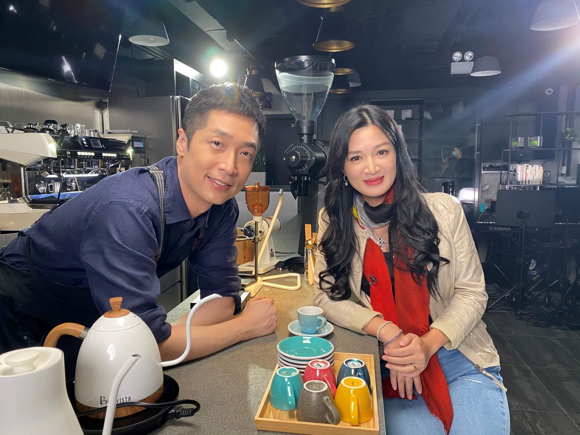 馬仔與陳少霞曾合作無綫劇集《鹿鼎記》