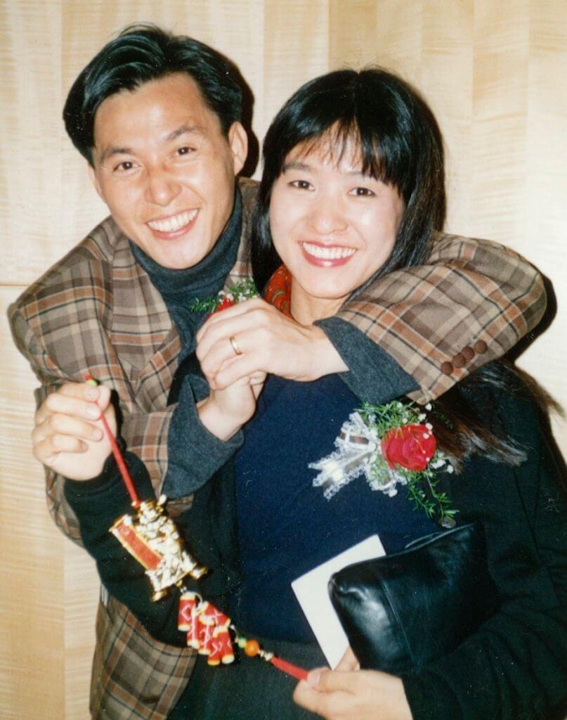 張國強與太太Melinda相愛四十年,今年是結婚三十三周年