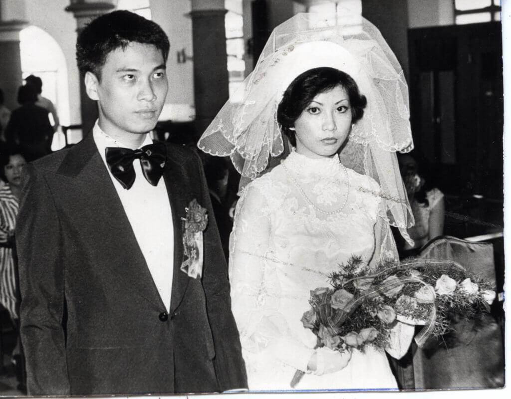七六年他與第一任太太麥莉莉結婚,婚姻維持了十八年。
