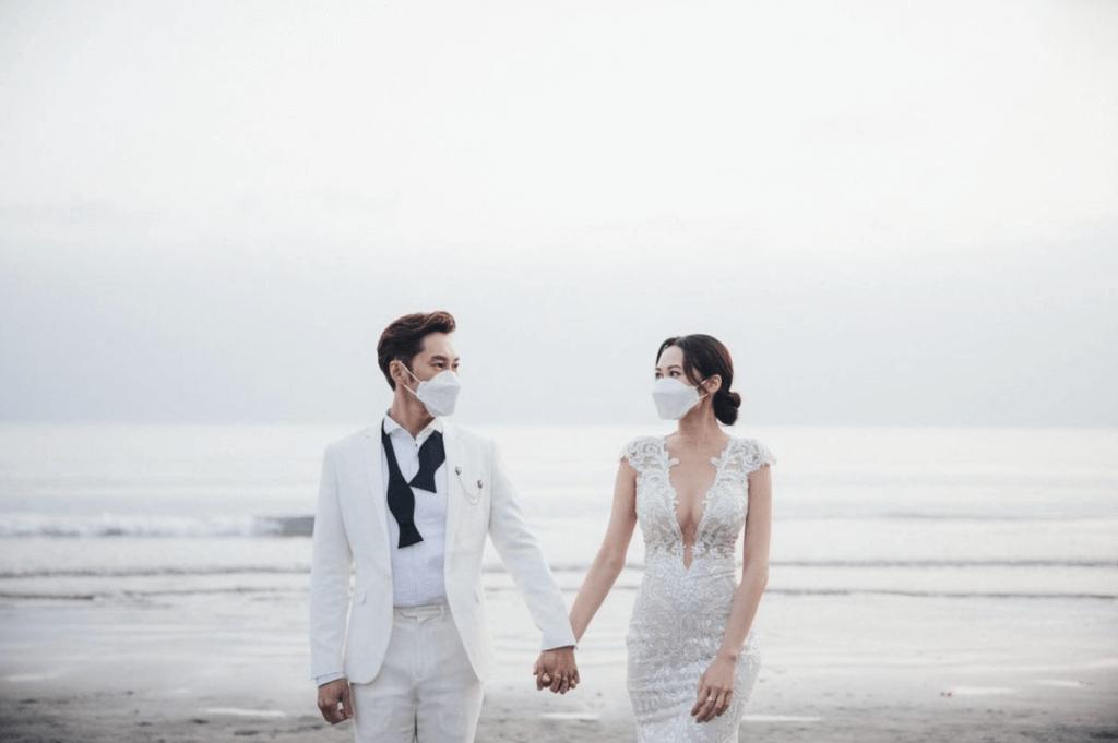 麥秋成湯怡元宵註冊結婚 「謝謝各位的祝福」