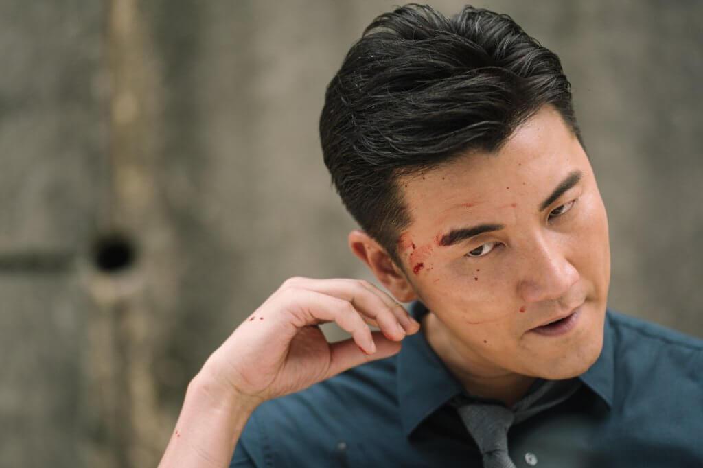 劇中他飾演智慧型的奸角,挑戰性比打打殺殺的演技更高。