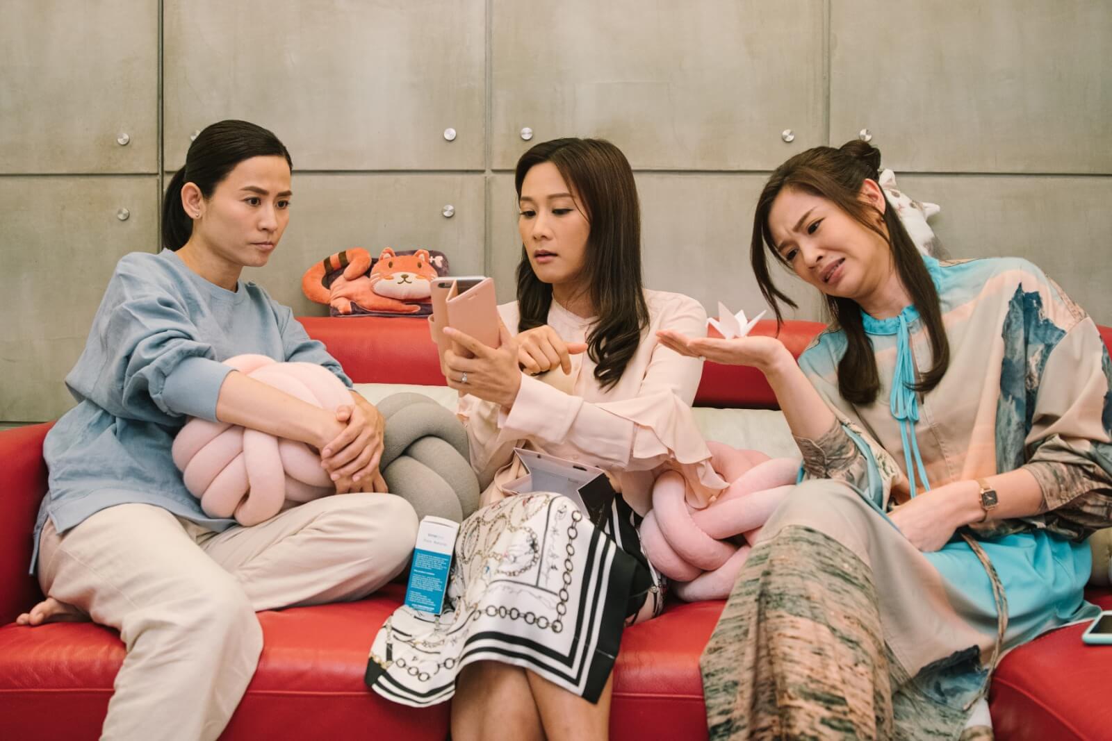 劇中與宣萱及麥美恩屬好姊妹,更不時為宣萱出主意度難關。