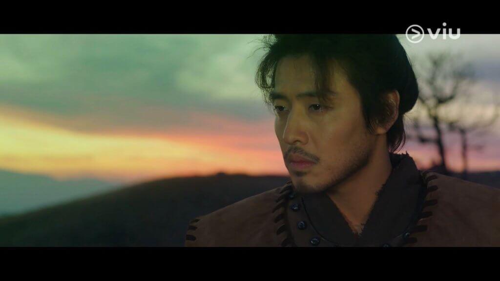 姜河那特別演出,飾演溫達之父溫協,是一名出色的將軍。