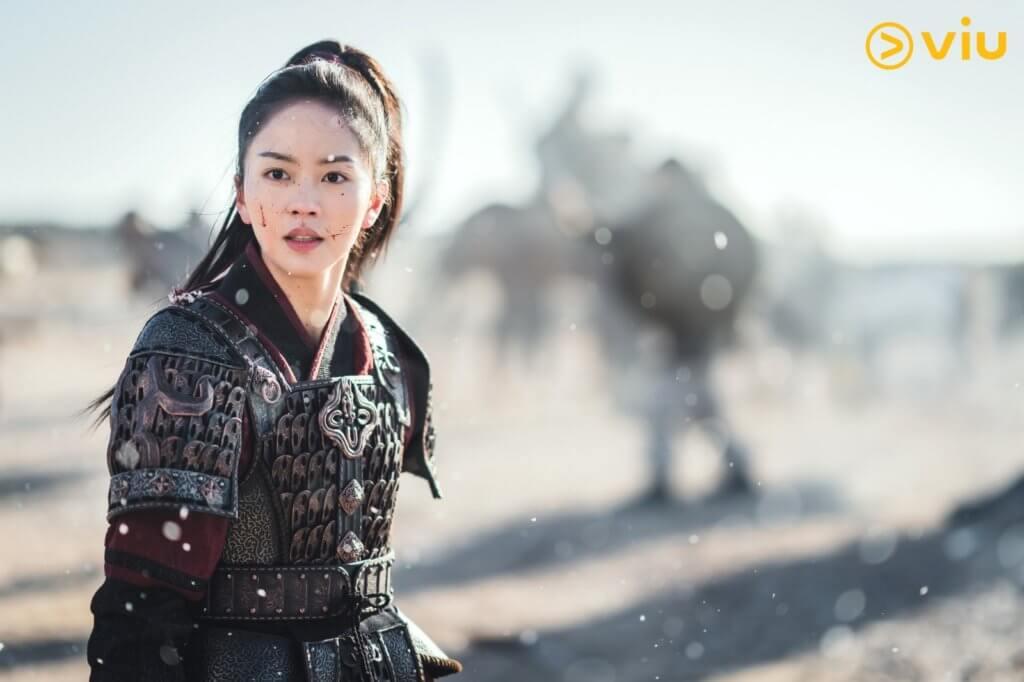 劇中金所炫一改溫婉甜美的形象,飾演披甲殺敵、堅毅不屈的平岡公主。
