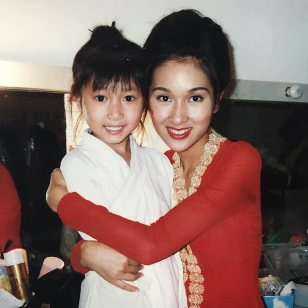電影《風雲》中,黃美棋演楊恭如的童年。
