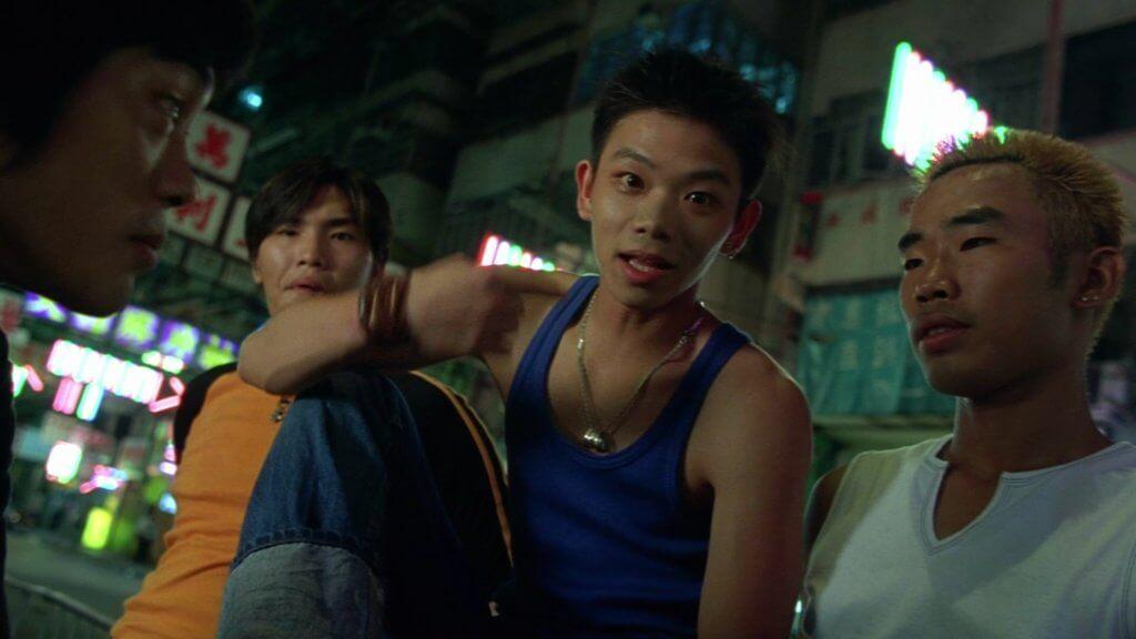 子善在電影《江湖告急》中,飾演李珊珊弟弟。
