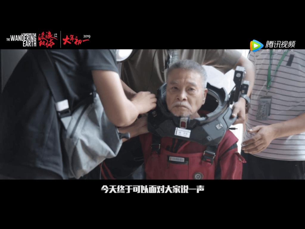 大病後的達哥,接拍電影《流浪地球》,拍攝過程艱辛,差點缺氧。