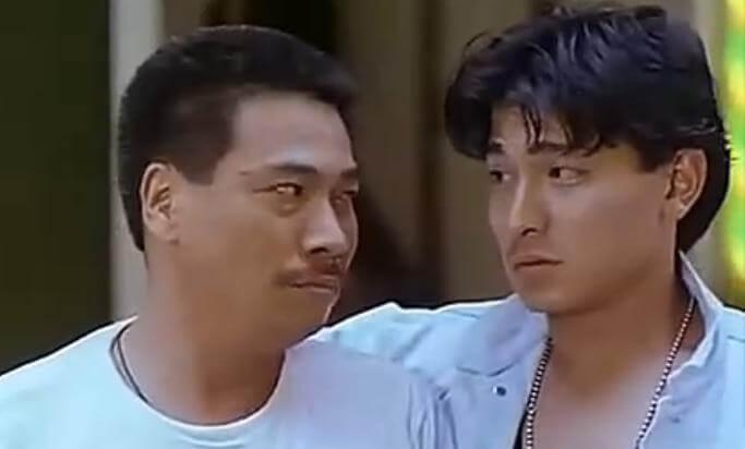 達哥與劉德華合作多次,如電影《天若有情》。