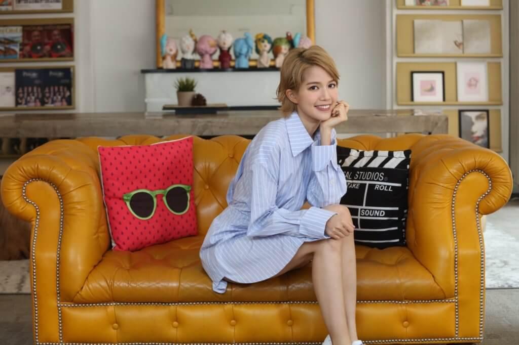 蘇皓兒獲邵氏兄弟簽約,未來會全力向影視界發展。