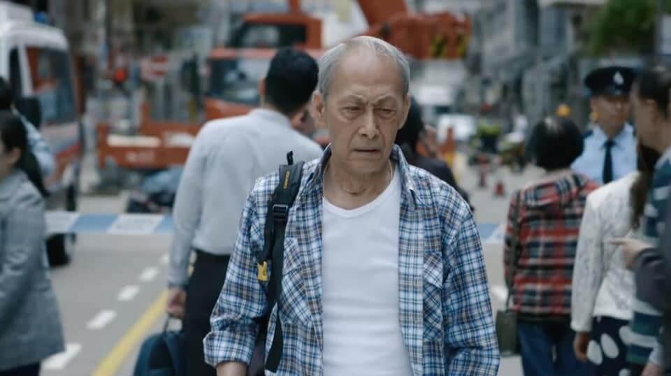 棠哥去年底參與新戲演出飾演補鞋匠