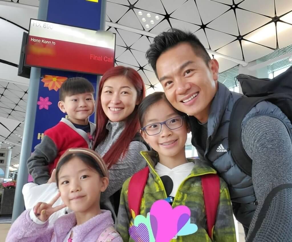 胡諾言Jack和太太陳琪June英文名都以J字開頭,三個小朋友都是J字派:長女Jay、二女Jacey、幼子Jayden。