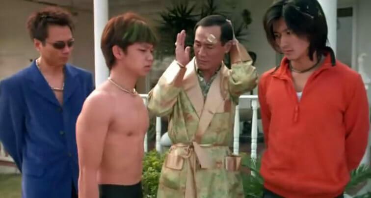 ○一年拍電影《老夫子》時,林子善只有十八歲,跟謝霆鋒及陳惠敏合作。