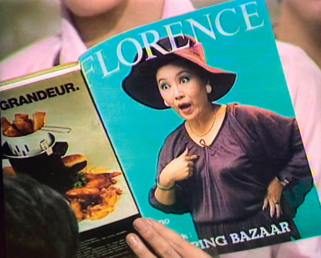 李香琴當電視周刊封面是司空見慣,但以目瞪口呆表情登意大利時尚雜誌封面?雖然這本佛羅倫斯只是劇集道具,到底物以罕為貴。