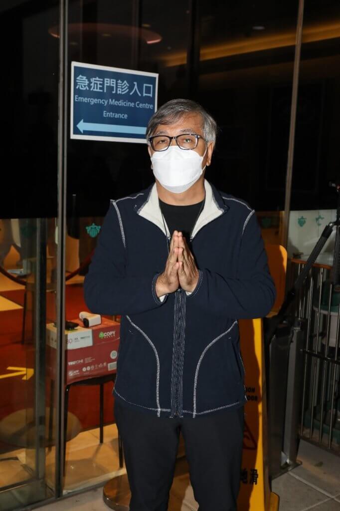 田啟文連日來為達哥的後事奔波,他稱喪禮當日家屬代表會接受訪問。