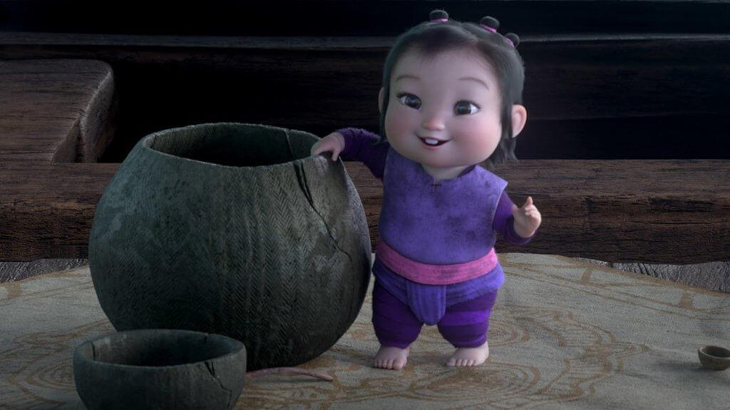 憑可愛外表兼超好身手的孤兒BB阿奈,非常搶鏡。