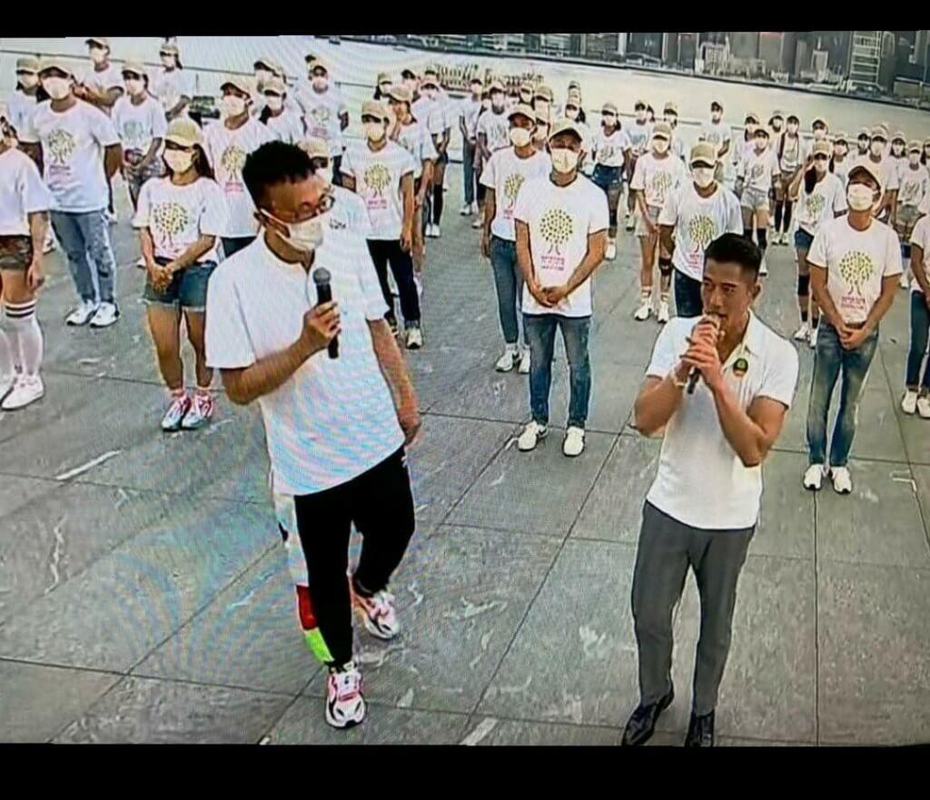 阿旦在去年五月再為郭富城舉辦《郭富城鼓舞‧動起來網上慈善演唱會》,亦引起很大迴響。