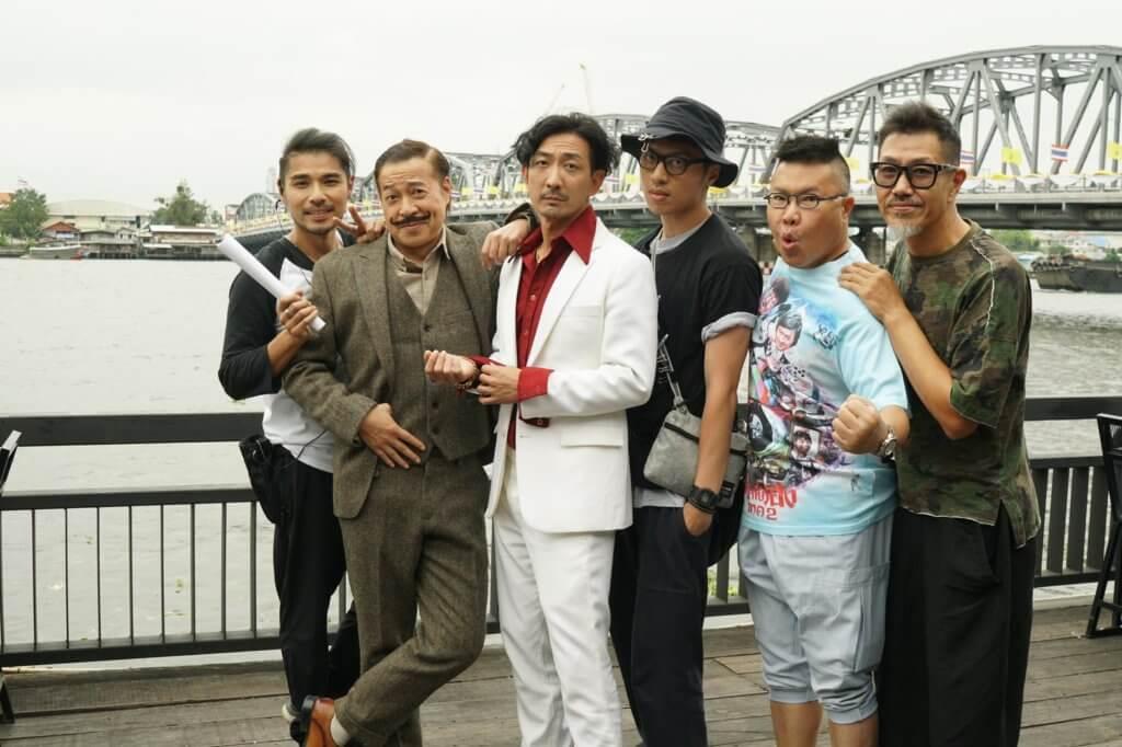 李璨琛經常在外拍戲,早前便監製了電影《大盜演》,跟詹昊宸(前名詹瑞文)合作。