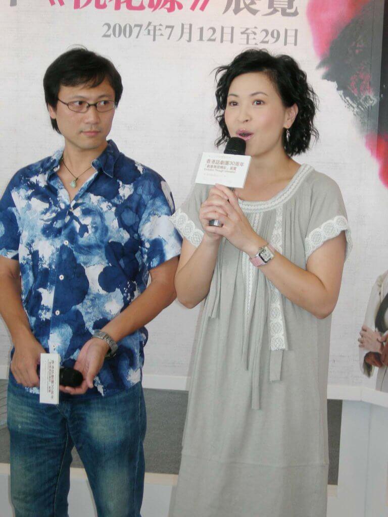 蘇玉華以前因為在無綫,知名度較高,潘燦良低調做她背後的男人。