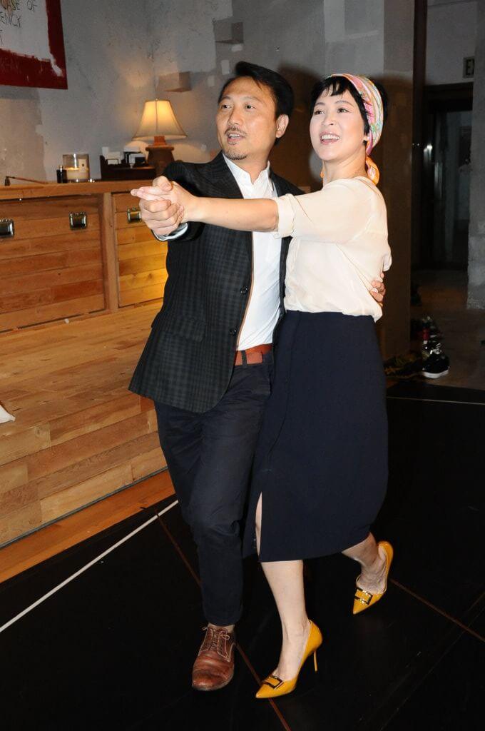 潘燦良和蘇玉華以前各自在演藝圈不同位置工作,近年較多合作。