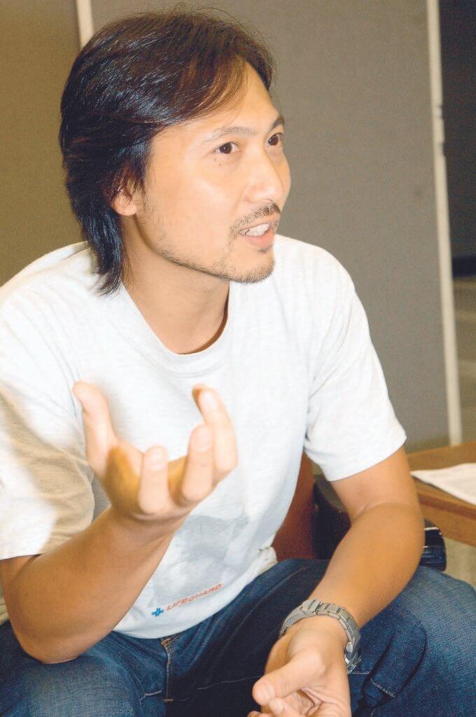 潘燦良性格較穩陣,在香港話劇團做駐團演員二十二年。