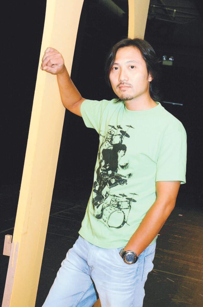潘燦良考演藝學院屢敗屢戰,第四次才考進去。