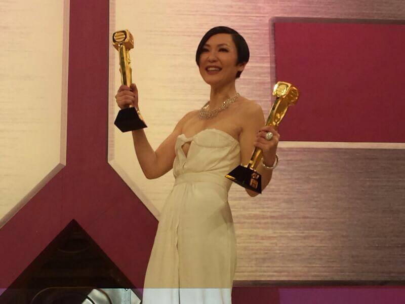 一三年,田蕊妮憑《巨輪》奪得最佳女主角及最受歡迎電視女角色兩個獎項。