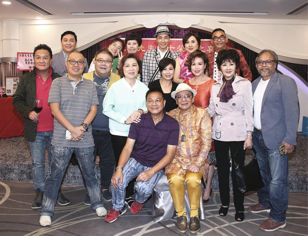 江圖幾年前慶祝八十大壽,苗金鳳、文雪兒、陳維英、楊紹鴻、劉錫賢、吳浣儀等歡聚一堂。