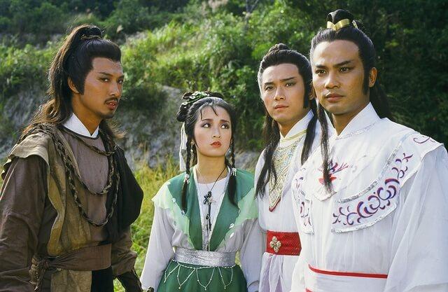 陳榮峻初出道已經在《楚留香之蝙蝠傳奇》中演胡鐵花