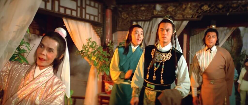 在邵氏得到楚原賞識,他亦有份演出由楚原執導的《楚留香之幽靈山莊》。