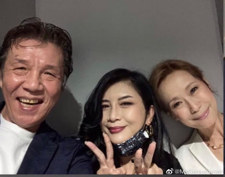 葉童與太保及吳家麗在ViuTV新劇《無限斜棟有限公司》合作,三個好戲之人惺惺相惜。