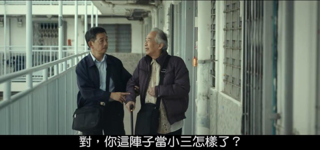 江圖在電影《叔叔》飾演病痛纏身的暮年同志,袁富華為中風的他抹口水一幕,其演技感動不少觀眾。