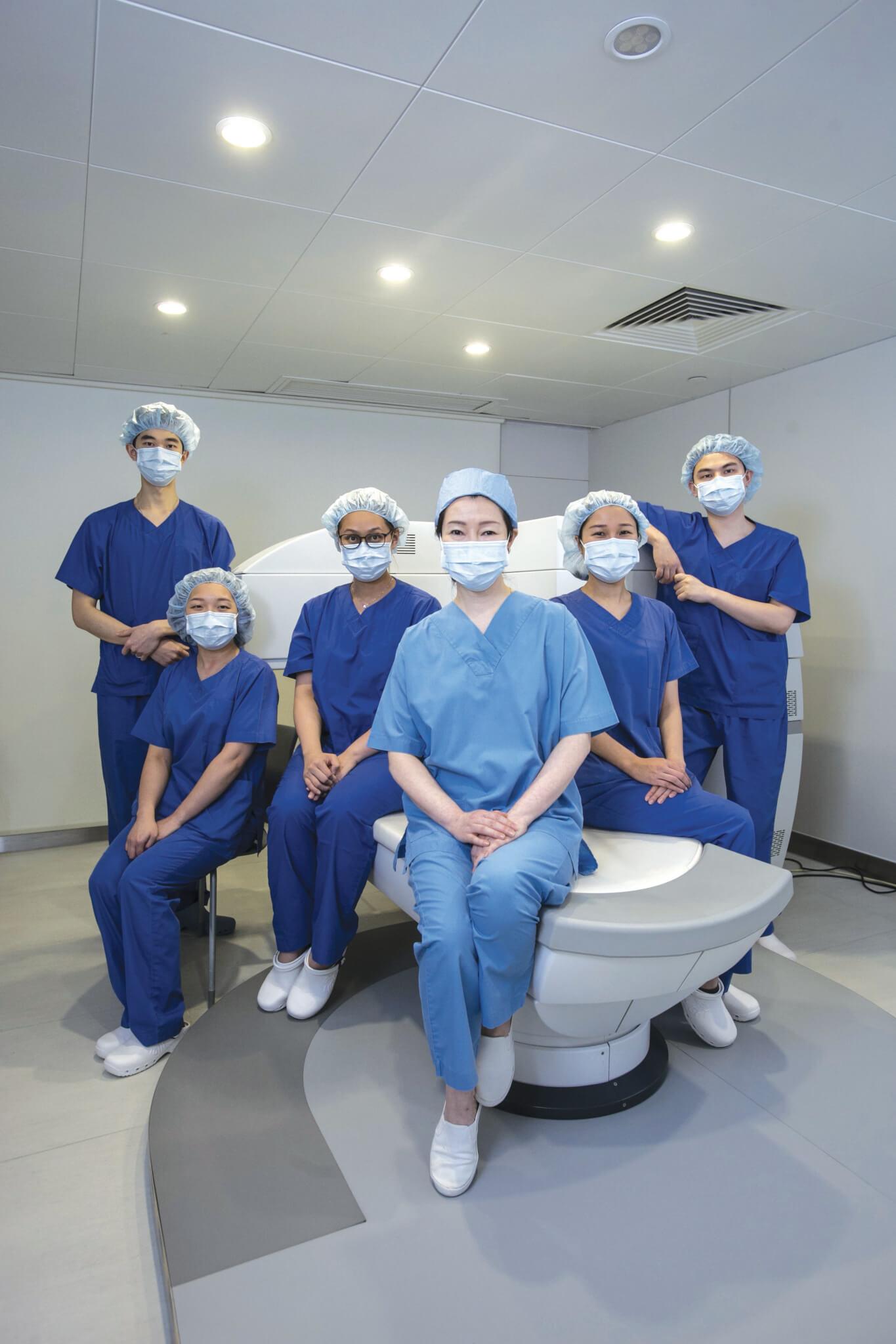 專業的眼科專科醫生、視光師和護士團隊為客人提供以客為尊的卓越眼科服務。