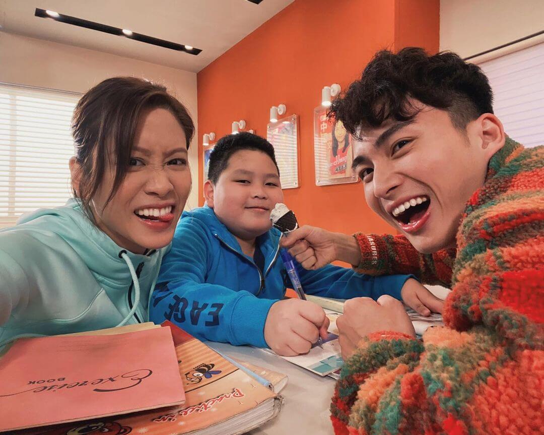 周嘉洛憑《愛.回家之開心速遞》「金城安」一角大受歡迎。