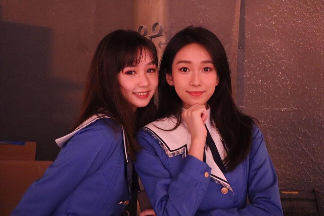Candy(黃曦誼)是ViuTV單元劇《YOLO的練習曲》的其中一位成員(右)