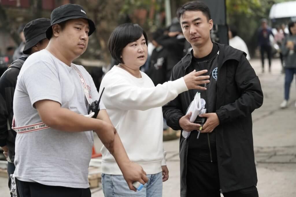籌拍電影三年,賈玲坦言首次做導演壓力很大,拍攝時有不少困難事。
