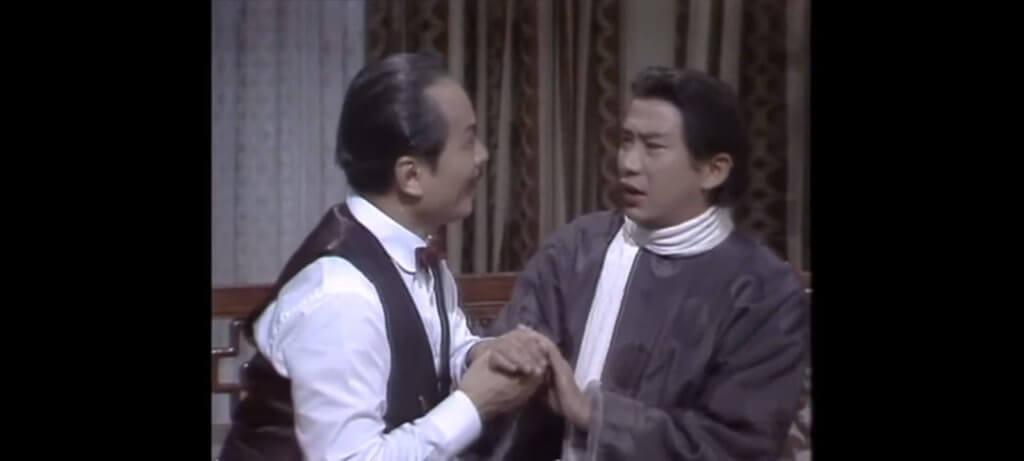 江圖在《大地恩情之古都驚雷》飾演京劇花旦尚艷秋,遭到飾演外交總長的曹達華性侵。