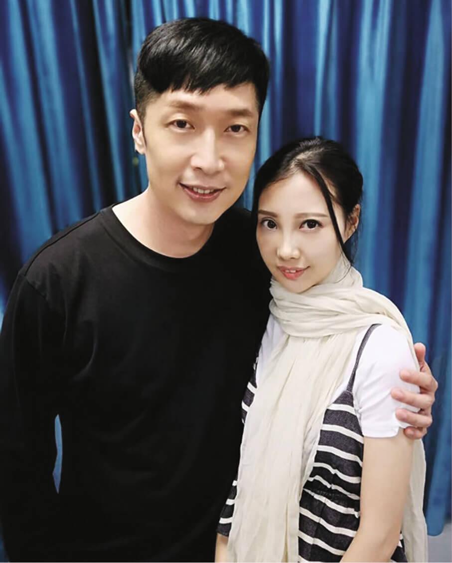 馬浚偉一直很關心李明蔚的病況,時常出心出力鼓勵及支持她。