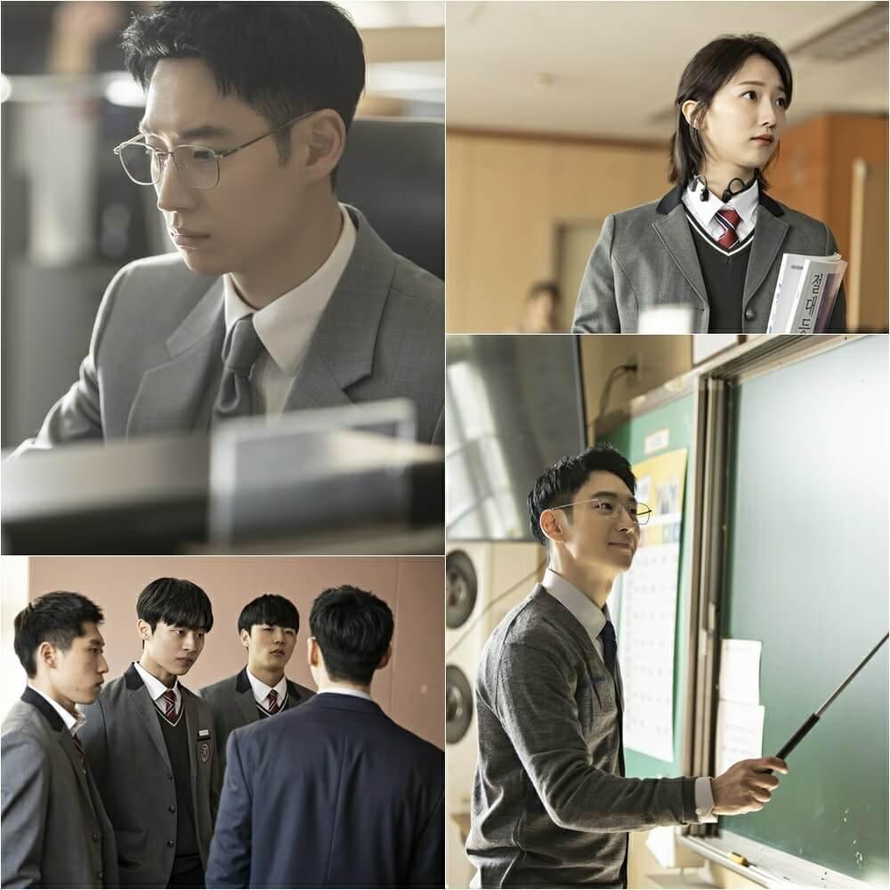 近期播出的一集中,李帝勳化身教師,為被欺凌的學生報仇。