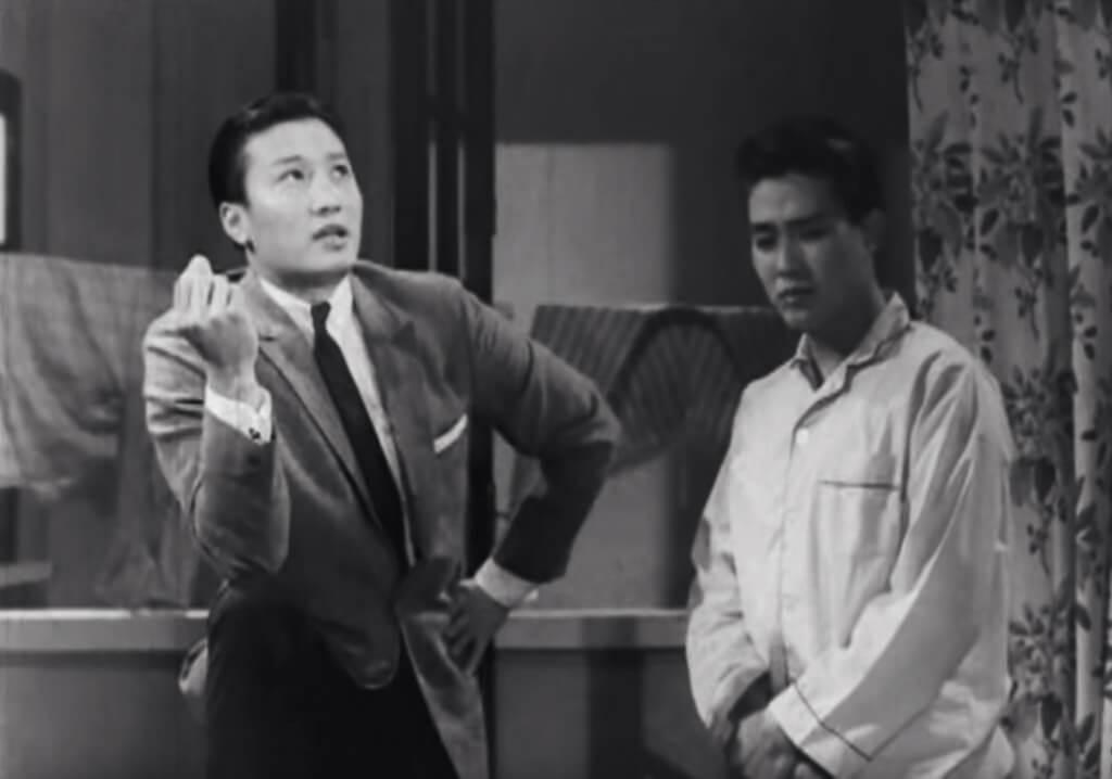 周驄與謝賢在粵語片時代合作無數