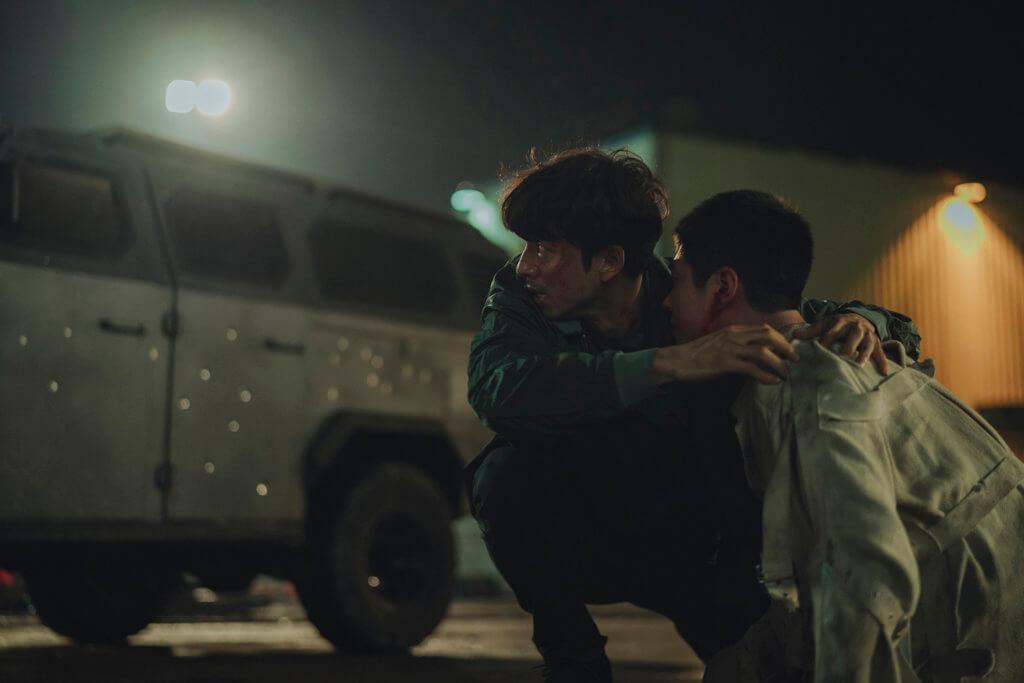 孔劉在片中飾演垂死特工,為保護徐福奮戰到底。