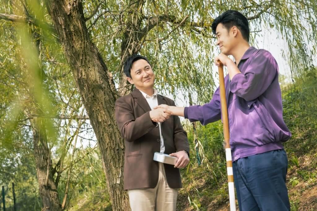 沈騰和陳赫在戲中分別喜歡李煥英和賈玲