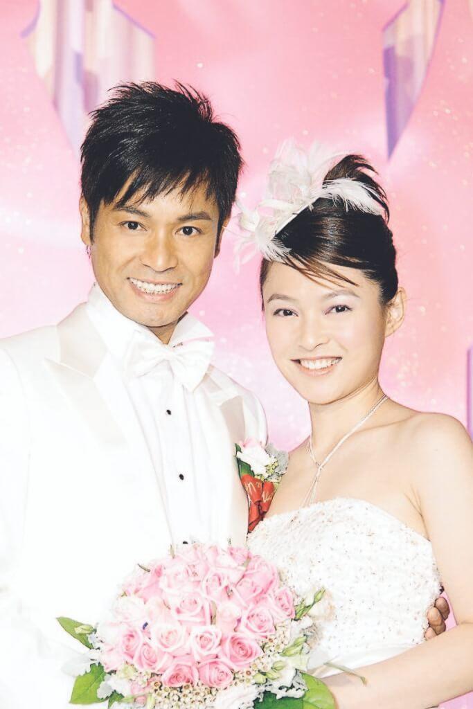 郭晉安和歐倩怡○六年在香港迪士尼的酒店結婚,新娘直言自己童心未泯。