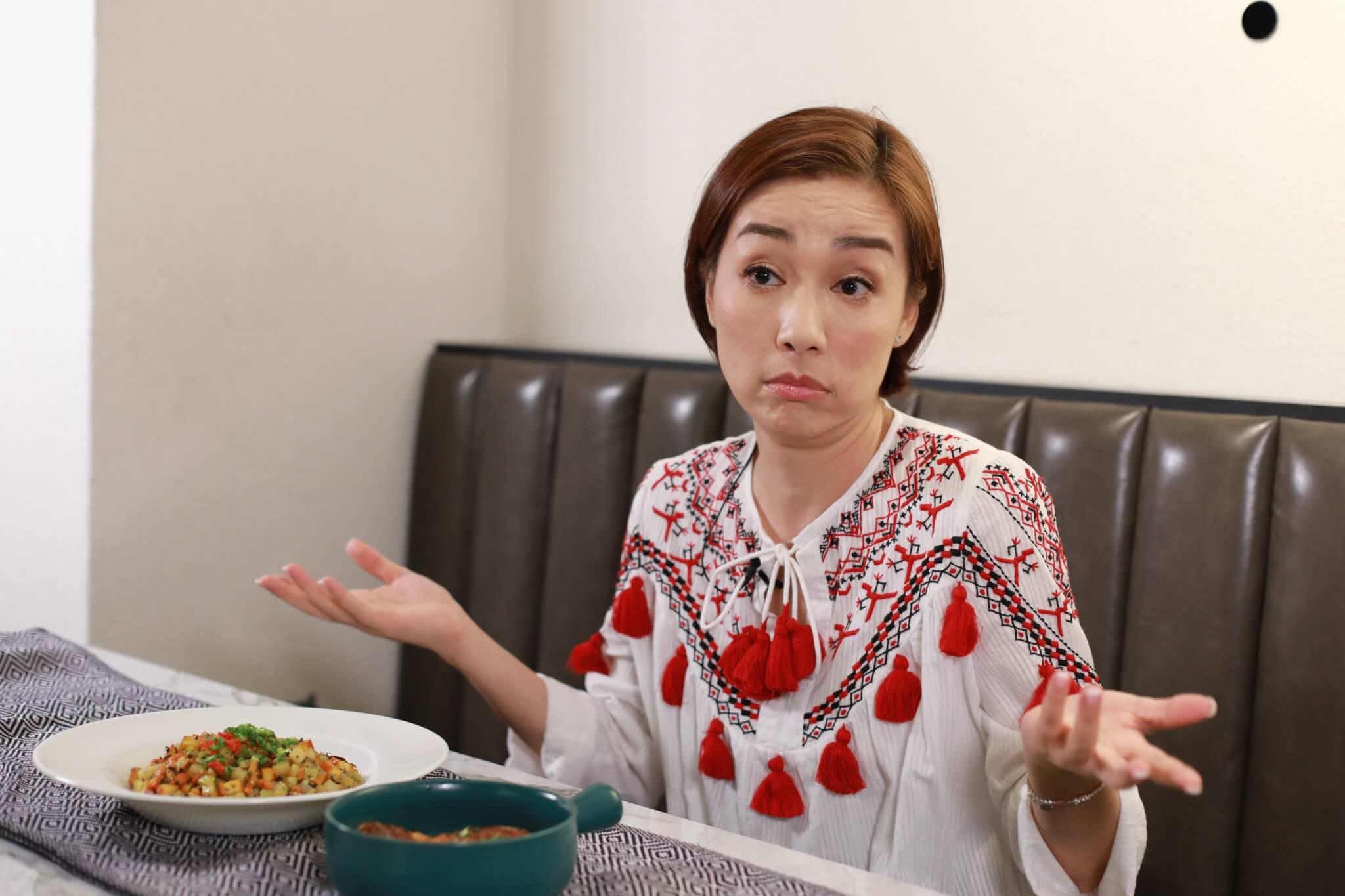 江美儀透露家人看過報道後非常擔心