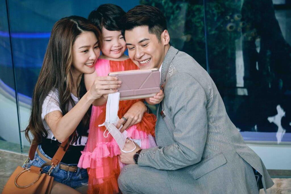 薛凱琪戲中飾演劉悅媽媽,與陳家樂有感情線。