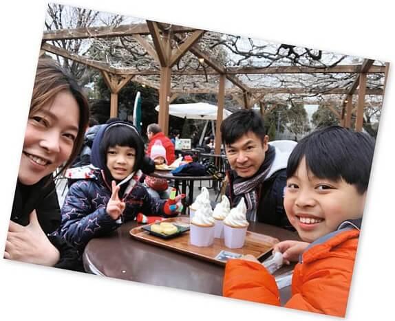 歐倩怡復出,問過丈夫郭晉安和兩個小朋友的意見。