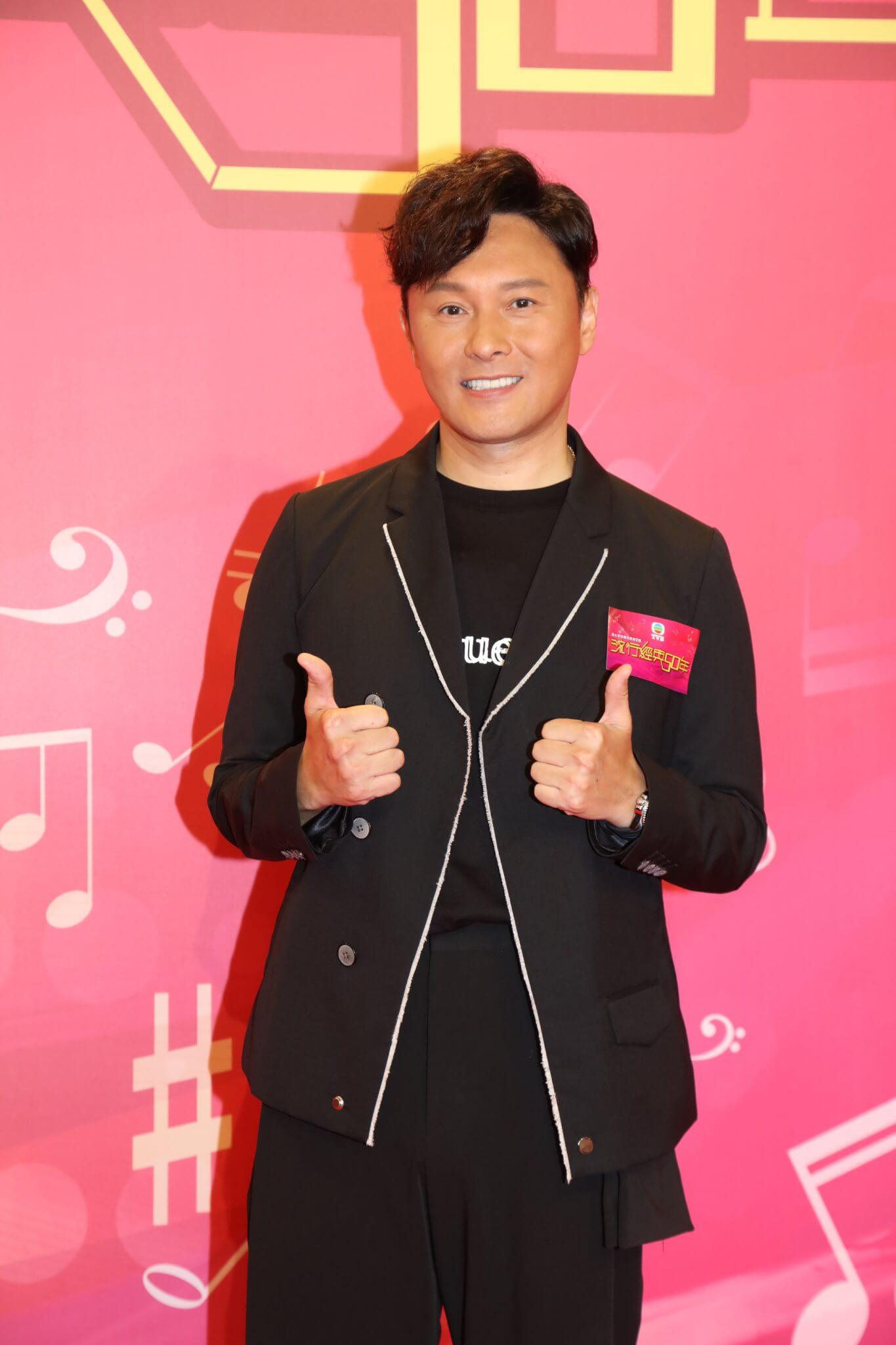 曹永廉否認擔任新劇男一,表示首選仍是周嘉洛。