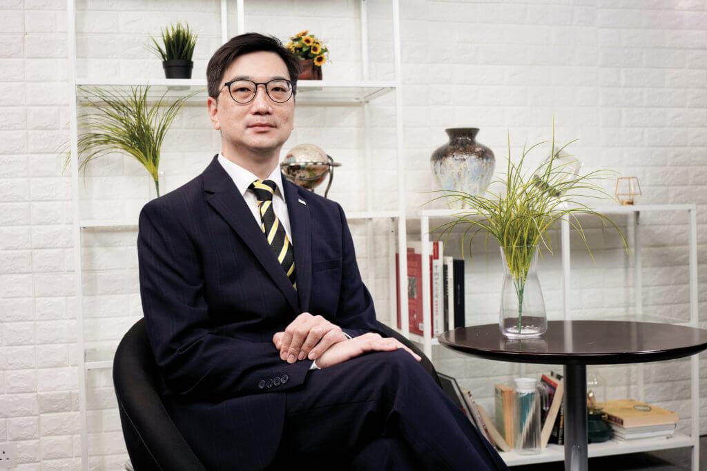 德國高潔總經理(香港分行)余景濤