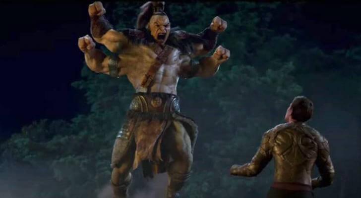 影片原汁原味呈現原創遊戲拳拳到肉和爆血爆頭斷肢鋸體超血腥的暴力風格