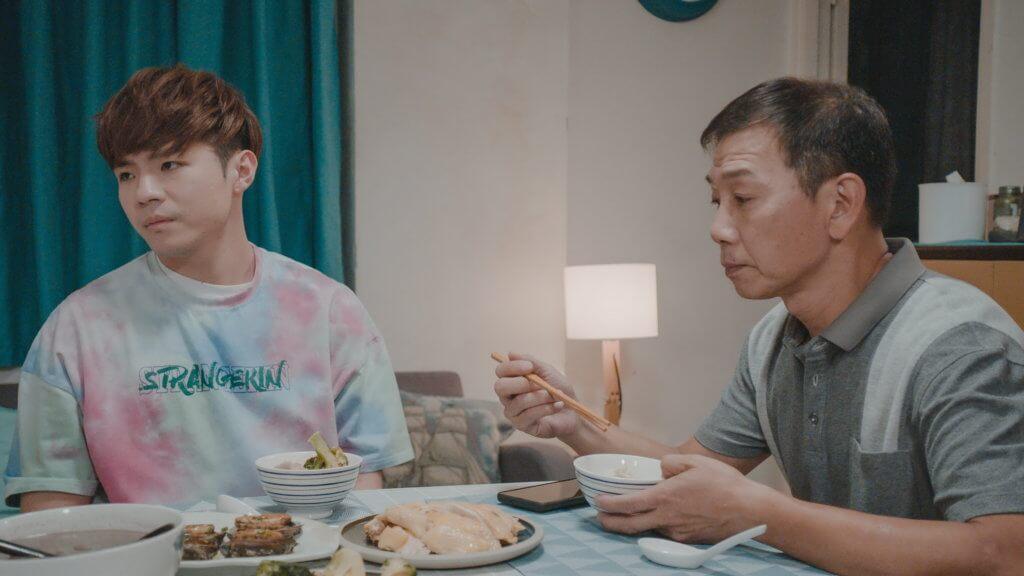 新劇雖然由三位年輕演員擔當主角,不過仍有大量資深演員撐場,袁富華在劇中飾演Ian父親,配搭新鮮。
