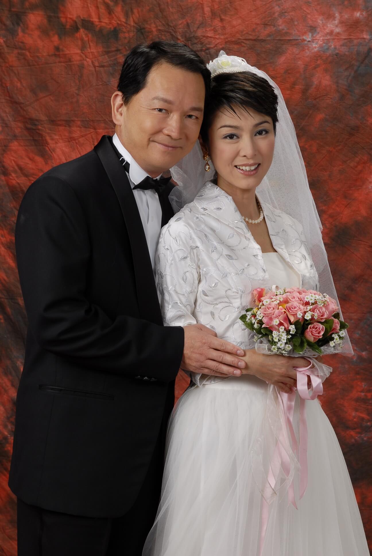 米雪與智叔於《廉政行動2007》合演夫婦